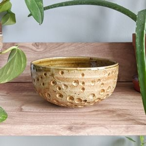 Textured accent bowl Hand thrown pottery